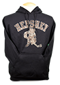 Hershey Bears Adult Skating Bear Hoodie