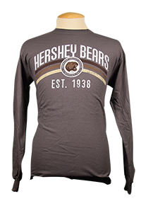 Hershey Bears Adult L/S AHL T-shirt