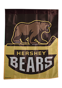 "Hershey Bears Wincraft Vertical 27""x37"" Flag_LARGE"