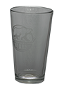 Bears 16oz Pint Glass Primary Logo