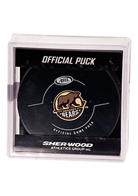 Hershey Bears Official Game Puck