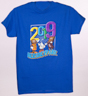 Hersheypark 2019 Characters T-shirt Royal Blue_THUMBNAIL