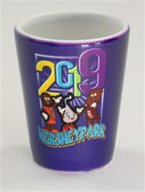 Hersheypark 2019 Characters Shot glass_LARGE