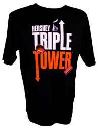 Triple Tower Adult Performance T-Shirt