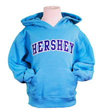 Hershey Youth Hood: Scuba Blue