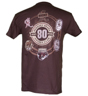 Hershey Bears 80th Anniversary Past Logos T-shirt Brown Mini-Thumbnail