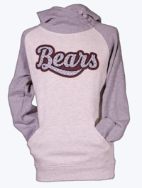 Hershey Bears Ladies Two-Tone Hoodie