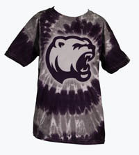Hershey Bears Girls Purple & Grey Tye Dye T-shirt