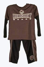Hershey Bears Toddler Boys Long Sleeve T-shirt & Pant Set