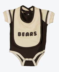 Hershey Bears Newborn & Infant Bodysuit & Bib Set_LARGE