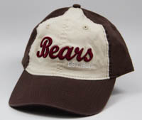 Hershey Bears Pacific Headwear Ladies Vintage Buckle Strap Adjustable Baseball Hat