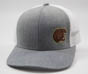 Hershey Bears Pacific Headwear Heathered Bear Head Logo Baseball Hat