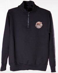 Hershey Bears 1/4 Zip Primary Logo Sweatshirt_LARGE
