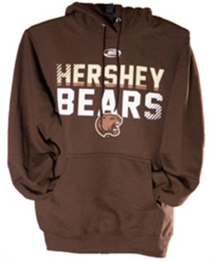 Hershey Bears AHL Logo Hooded Sweatshirt LARGE