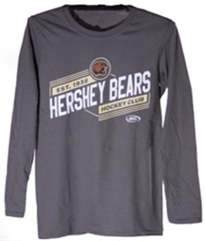 Hershey Bears Youth AHL Logo Long Sleeve T-shirt LARGE