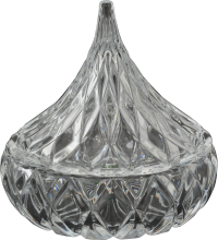 Crystal Kiss Candy Dish