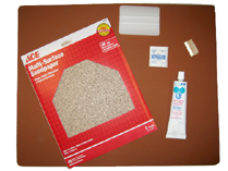 "15""x15""x3/8"" Thick Pad Replacement Kit"