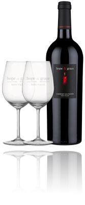 HOLIDAY 2017 - Cabernet & Glassware Gift Set