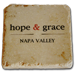 hope & grace Logo Coaster/Tile Mini-Thumbnail