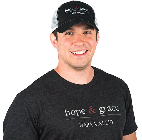 hope & grace Baseball Hat