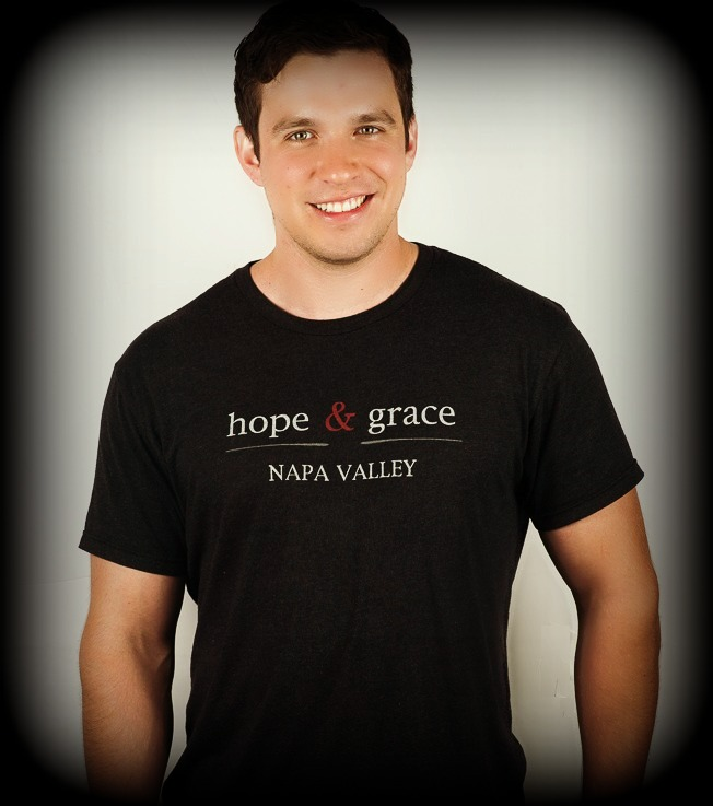 hope & grace Mens Logo T Shirt