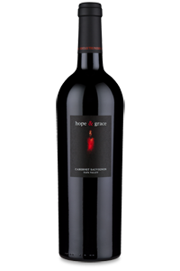 2008 hope & grace Cabernet, St. Helena