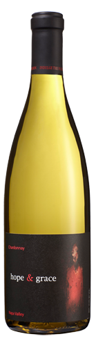 2013 hope & grace Chardonnay, Yountville