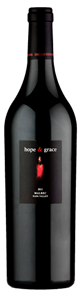 2014 hope & grace Malbec, Oak Knoll, Napa Valley