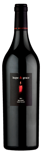 2012 hope & grace Malbec, Napa Valley