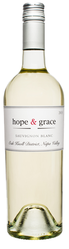 2013 hope & grace Sauvignon Blanc, Napa Valley