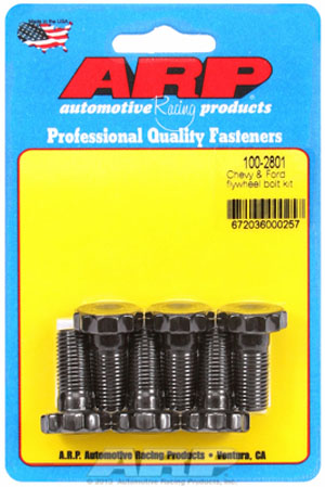 Chevy and Ford Flywheel Bolts (100-2801) MAIN