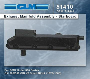 GM 305/350 OMC 800 Series (GL51410)