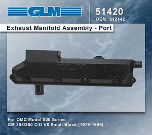 GM 305/350 OMC 800 Series (GL51420)