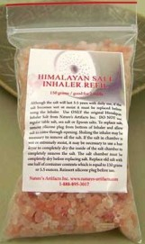 Breathe Easier Flush Impurities With Himalayan Crystal Salt Inhaler