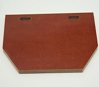 Mfg, 990F, Jamb Sub, Natural Canvas Phenolic, 3/8 X 4 X 5-1/2 MAIN