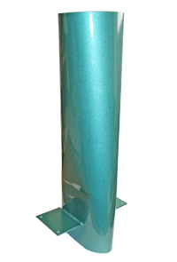 "Mfg, Back Section, Upper Dust Collection Hood, 4"" Vertical Outlet MAIN"