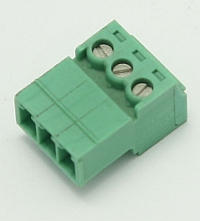 Connector Terminal Block Inverted Plug, 3 Pole, 3.81mm Pitch,Phoenix MAIN