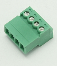 Connector Terminal Block Inverted Plug, 4 Pole, 3.81mm Pitch,Phoenix MAIN