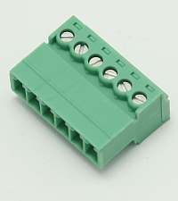 Connector Terminal Block Inverted Plug, 6 Pole, 3.81mm Pitch,Phoenix MAIN