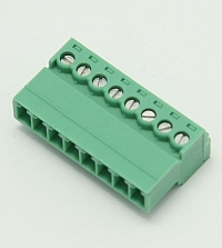 Connector Terminal Block Inverted Plug, 8 Pole, 3.81mm Pitch,Phoenix MAIN