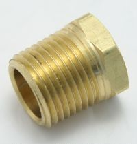 Brass Plug 1/2 Male Pipe Thread Hex Head MAIN