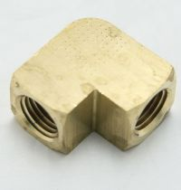 Brass Elbow 90-Degree Union 1/4 Female Pipe Thread MAIN