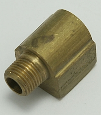 Brass Elbow 90-Degree Street 1/4 Female to 1/8 Male Pipe Thread MAIN