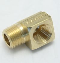 Brass Elbow 90-Degree Street 3/8 Female to 3/8 Male Pipe Thread MAIN