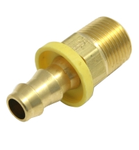 Fittings, Parker Push Lok 1/4 MP - 3/8 Barb MAIN