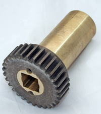 Mfg,979,Low Feed,Feed Timing Gear Assembly,Square Shaft MAIN