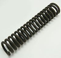 "Spring,1-5/8"" OD X 1-1/8"" ID X 8"" Long,With 1 end C/G,1 End Closed MAIN"