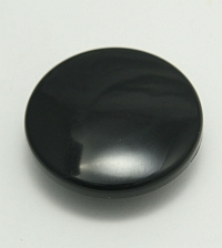 Mushroom Button, IDEC, Black, ABD3BN-B MAIN