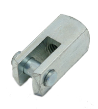 Cylinder Hardware, Clevis 090 Series 5/16-24 National Fine Thread 1.19 Long .25 Diameter Pin MAIN