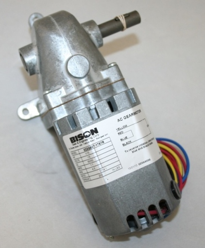 R/A UNIVERSAL GEAR MOTOR: 115V, 50/60 HZ, 1/15 HP, 4.5 RPM, 250 IN/LB TORQUE, 1/2 DIA OUT PUT SHAFT THUMBNAIL
